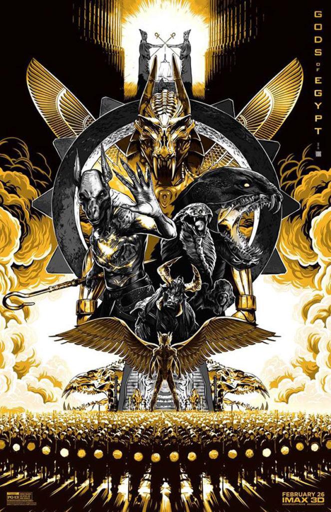 affiche imax gods of egypt
