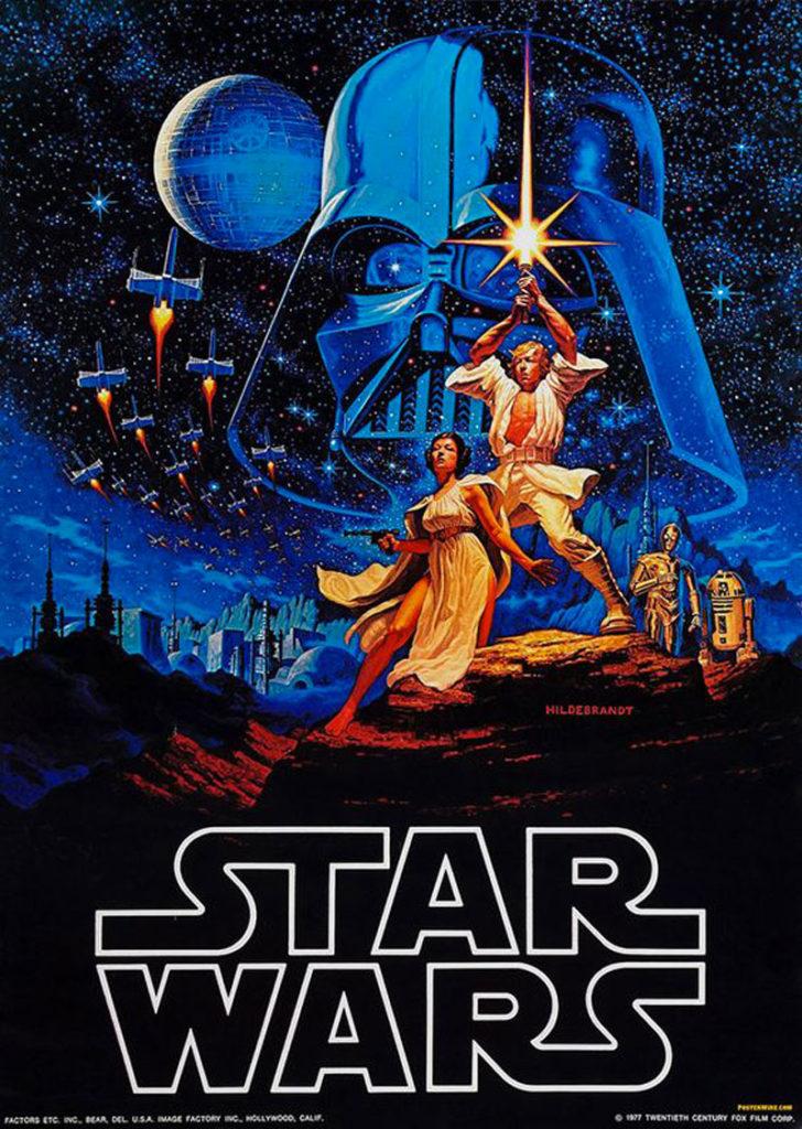Affiche starwars frère Hildebrandt