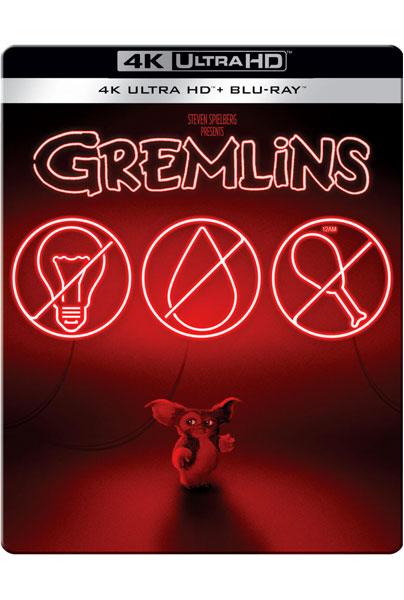 Blu-Ray 4k Gremlins