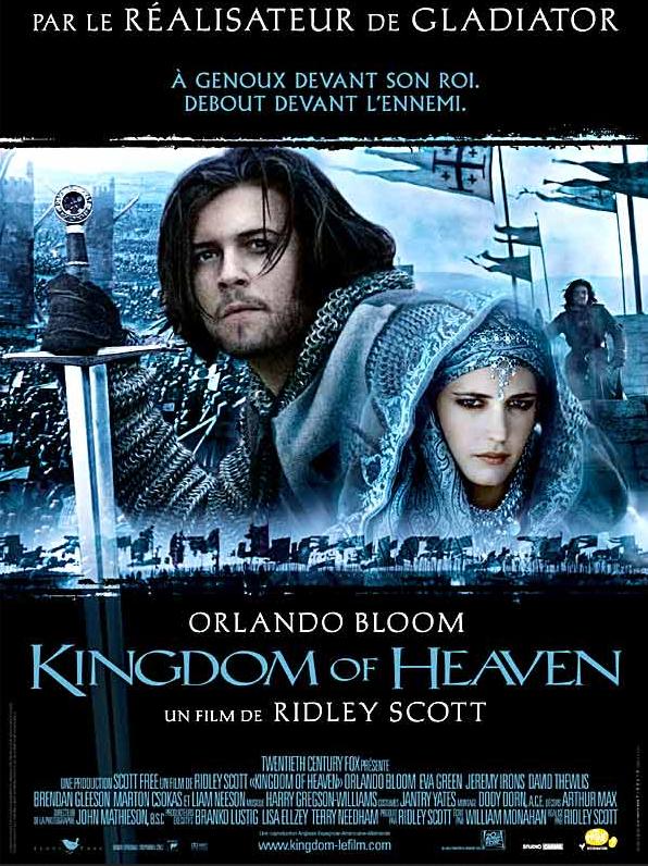 affiche kingdom of heaven les belles affiches